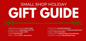 Gifts for the Holidays. A Small Business Guide!