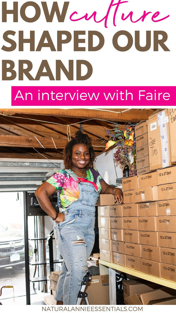 A FAIRE Interview On How the Culture of Jamaica Shaped The NaturalAnnie Essentials Brand