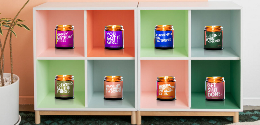 Announcing! New Candles to Empower Your Inner Girl Boss & Motherhood