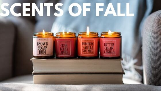 autumn scents and home decor