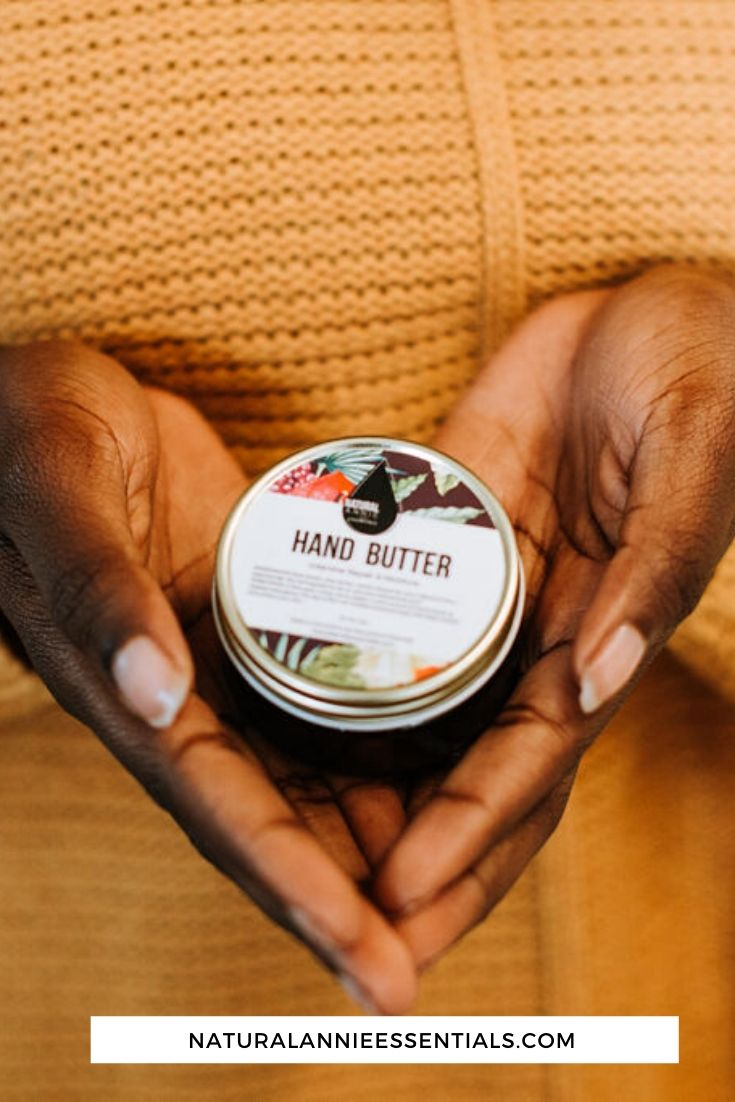 naturalannie essential moisturizing hand butter cream