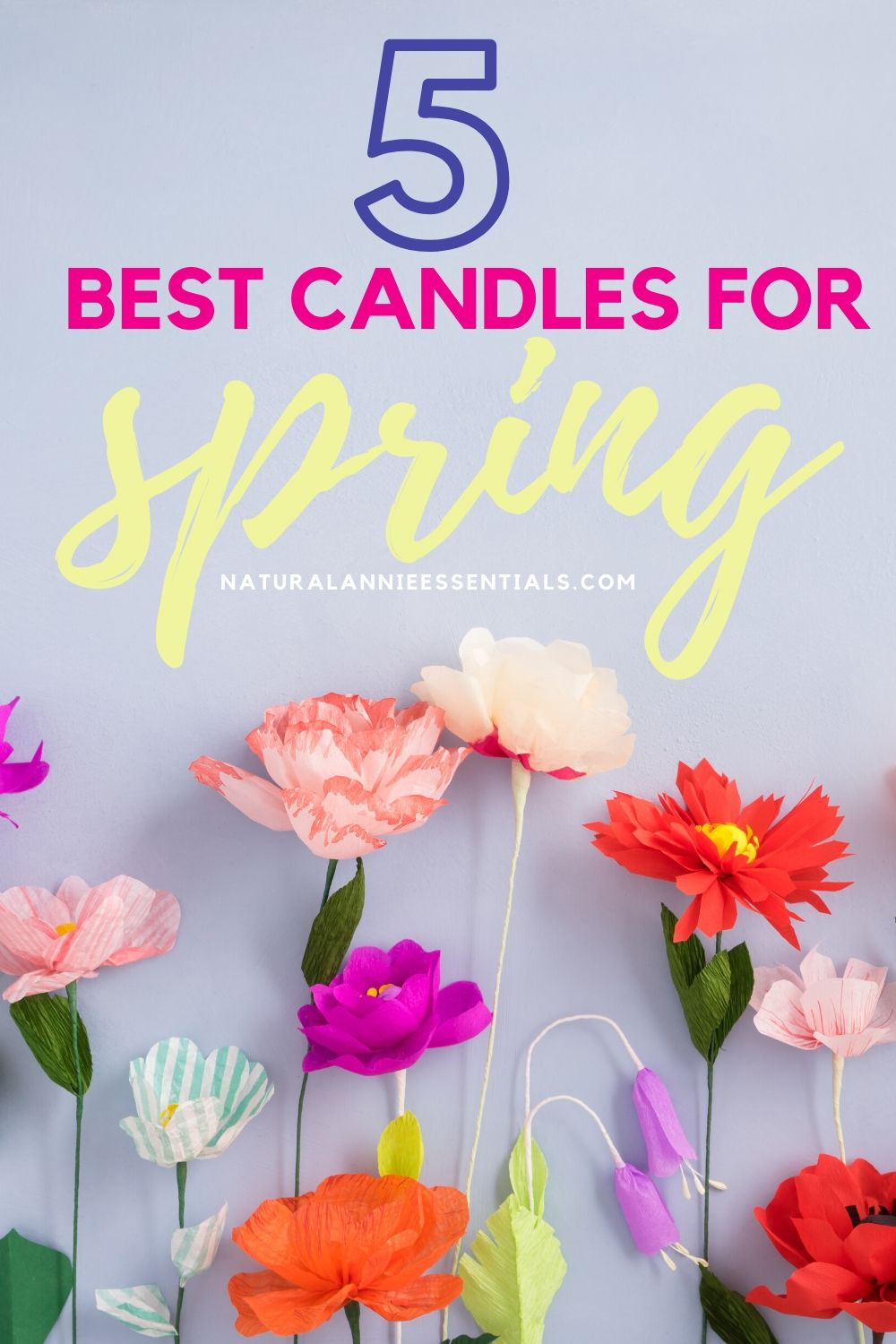 spring 2020 home decor scented handmade candles