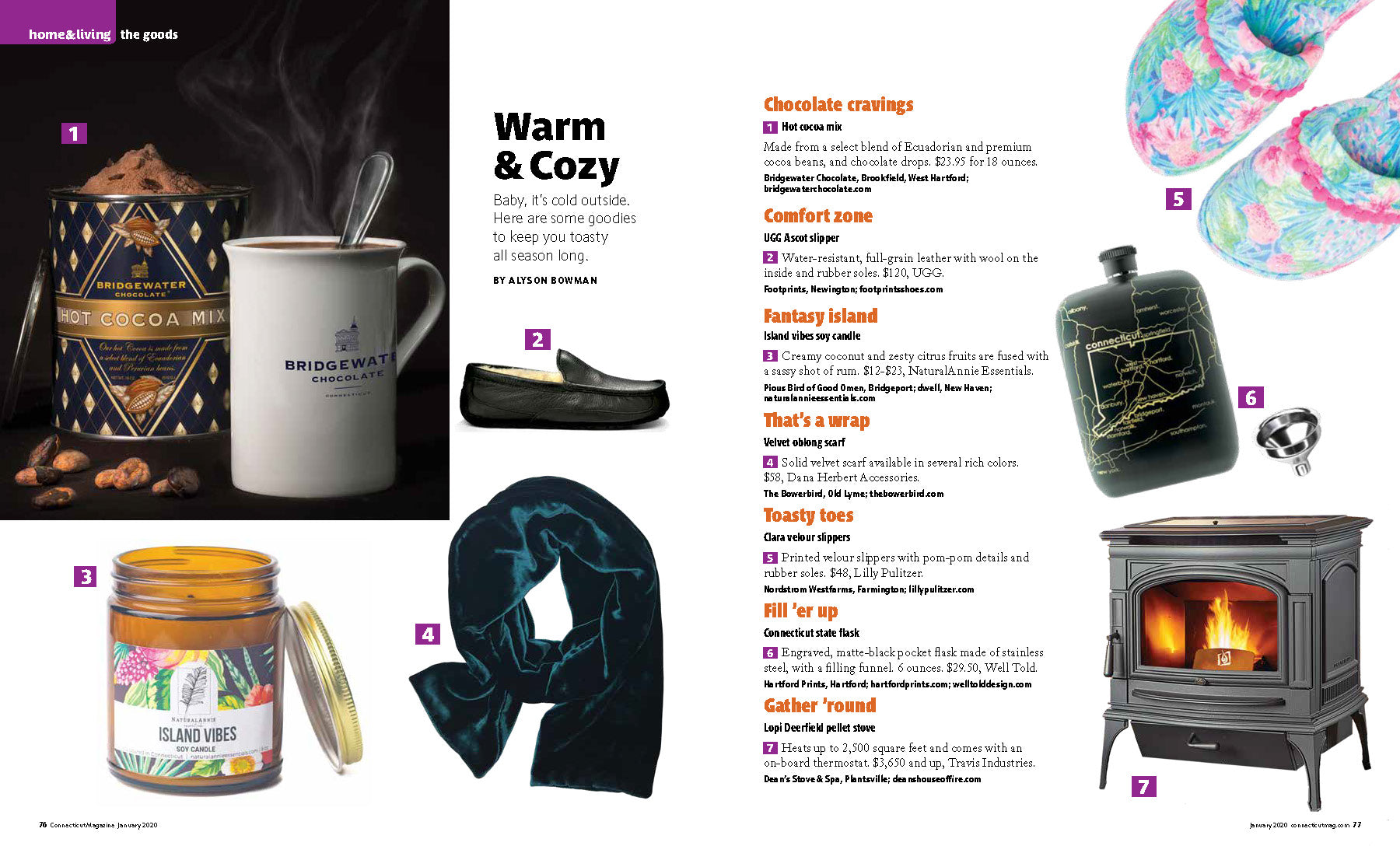 connecticut magazine naturalannie essentials candle feature