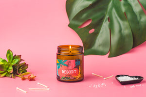 naturalannie essentials tropical resort candle