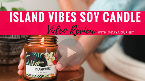 ISLAND VIBES soy candle video review