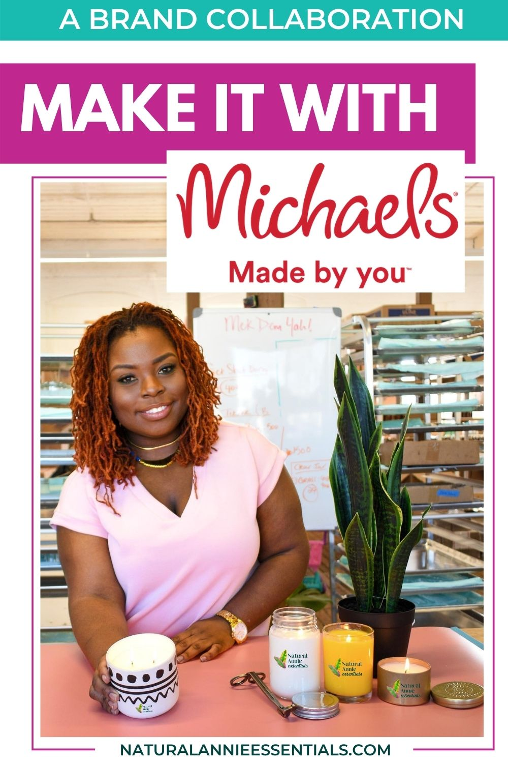 MICHAELS MADE BY YOU BRAND COLLABORATION