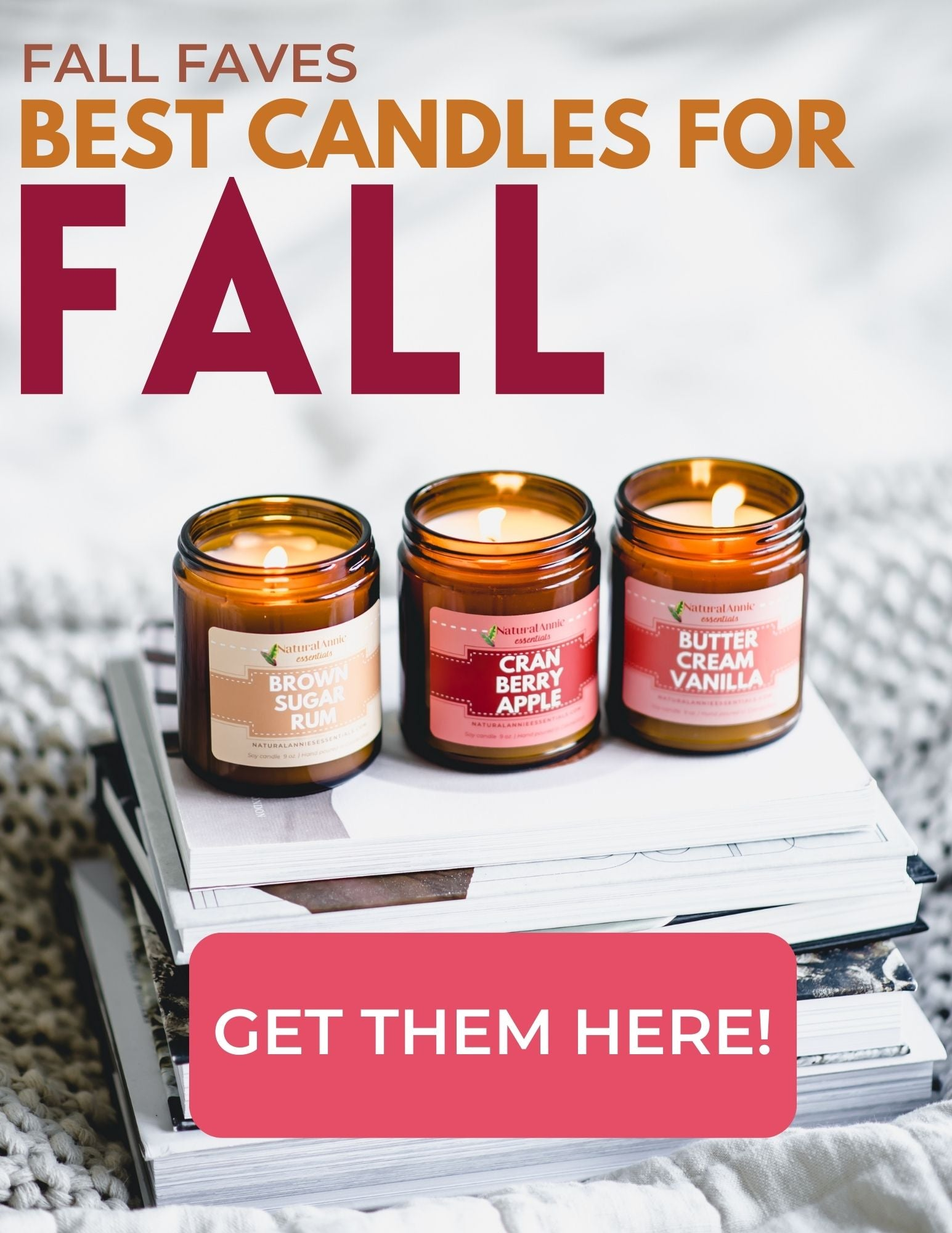 BEST ALL NATURAL CANDLES FOR FALL