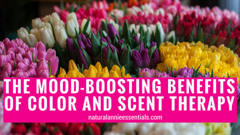 The Mood-Boosting Benefits of Color and Scent Therapy