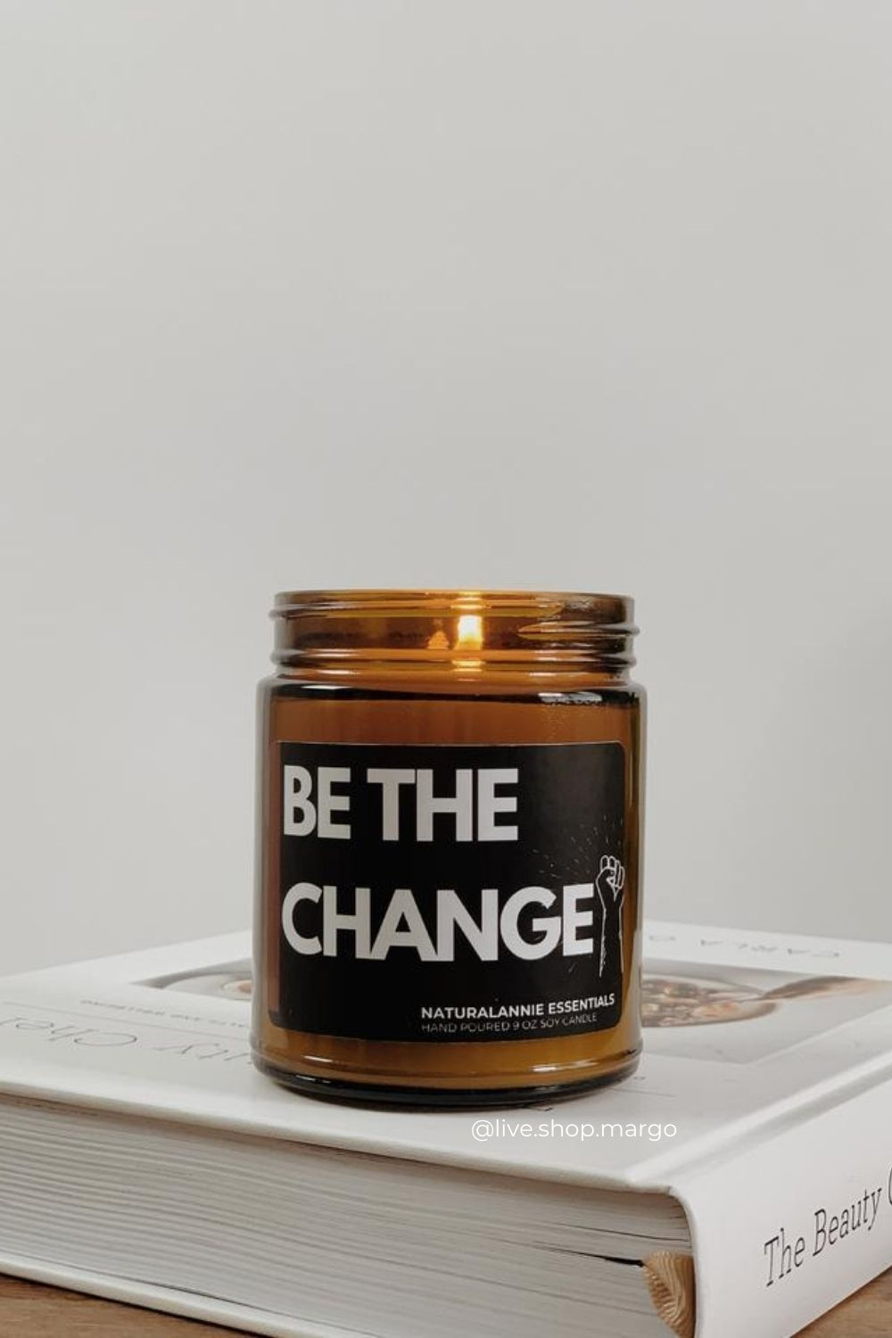 be the change naturalannie essentials soy candle