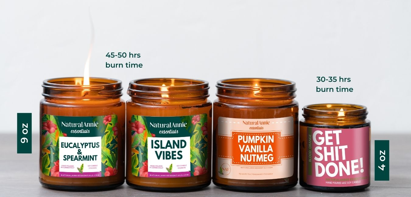 about our candles naturalannieessentials