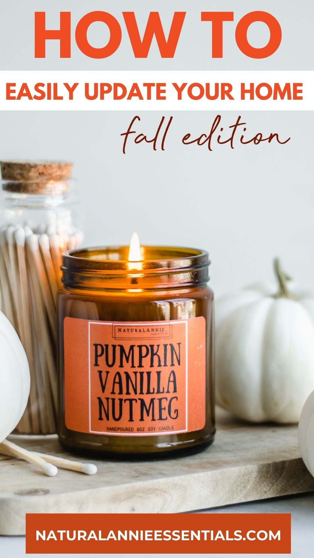halloween thanksgiving holiday home decor candle