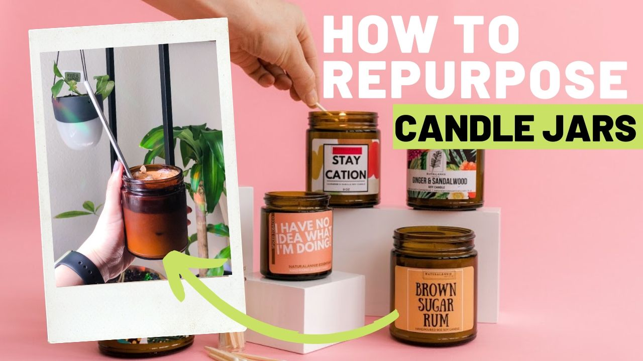 how to clean and reuse candle jar when candle is finished