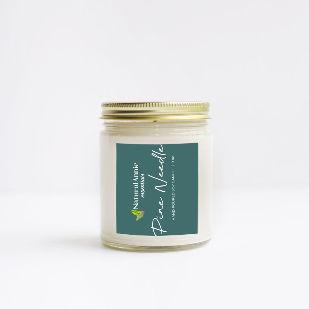 Coconut COrals Scented Soy Candle: Coconut &Sea Salt