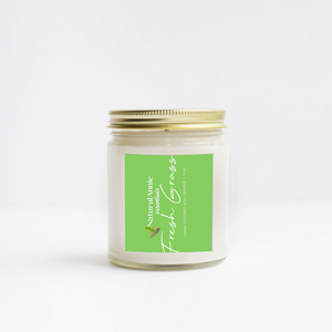 Tropics Scented Soy Candle- Grapefruit and Mint.  This juicy-fruity-fresh-n-minty fragrance is so evocative you'll think you've teleported to the tropics.