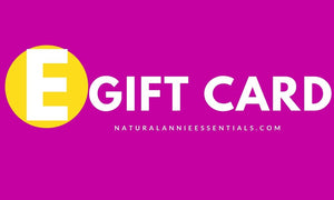 naturalannie essentials electronic gift card