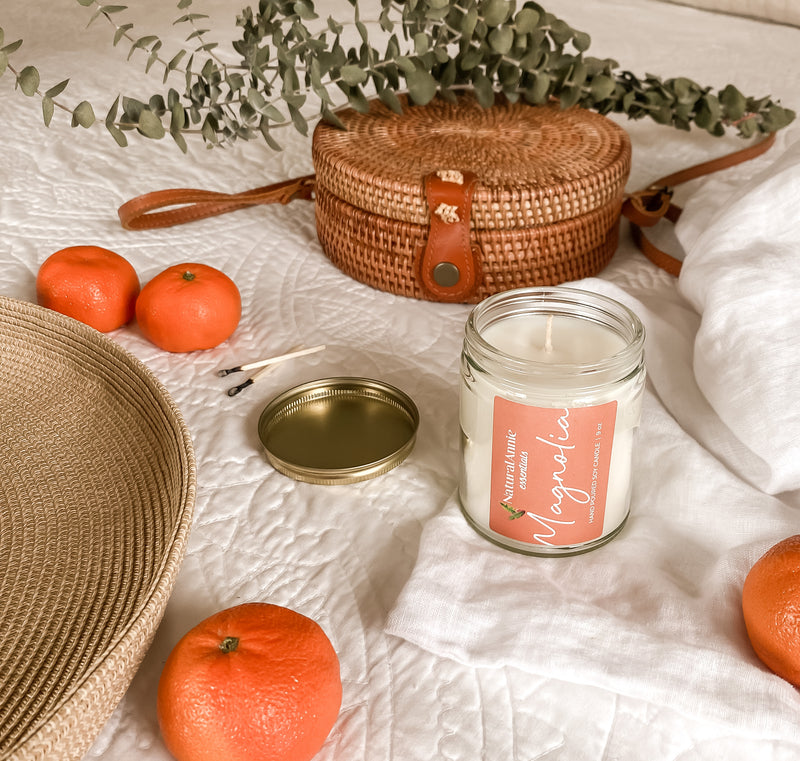 Flowery and sweet, with a touch of citrus, the Magnolia Everyday Candle is a dreamy remembrance of a hot southern afternoon.