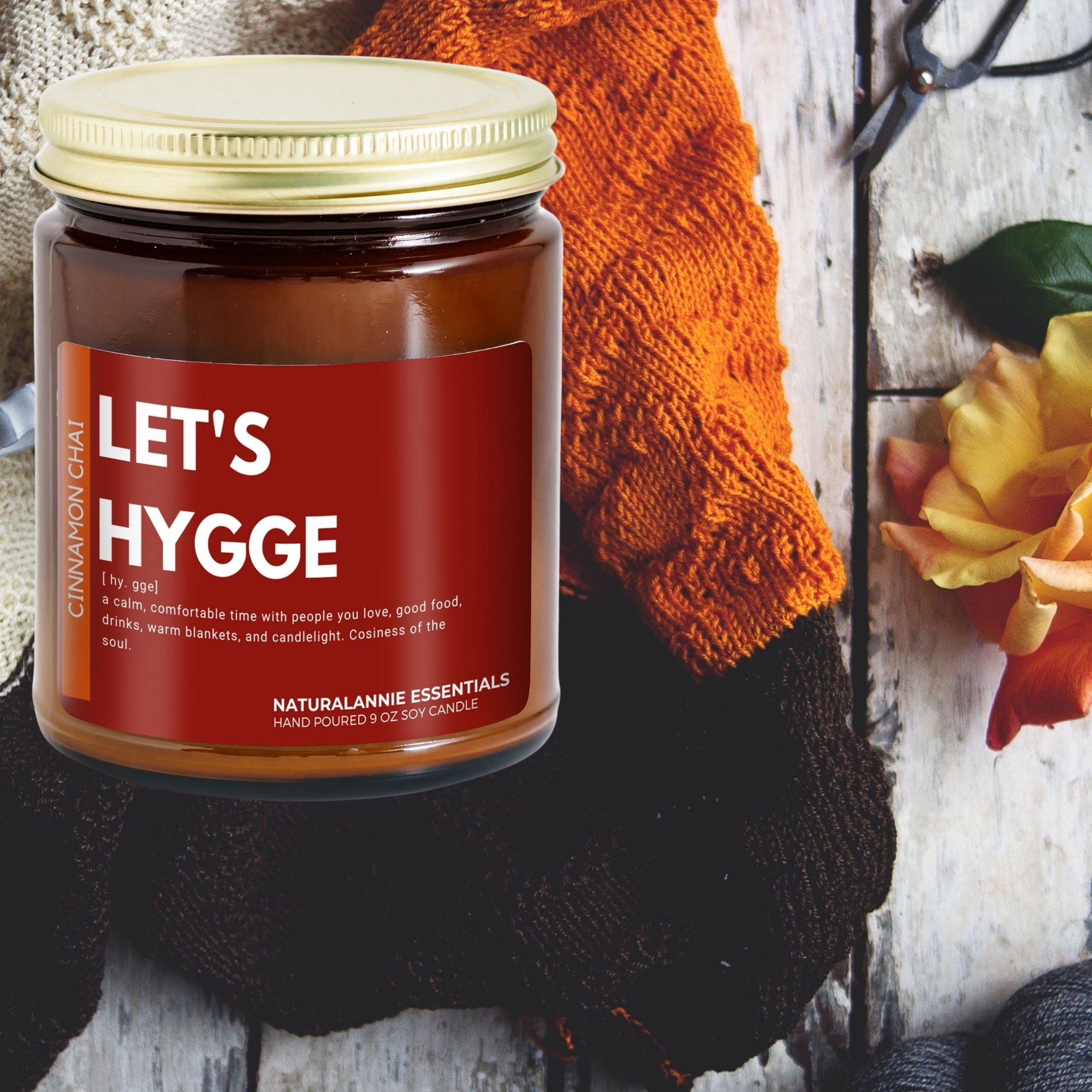 andle club subscription box cinnamon chai hygge