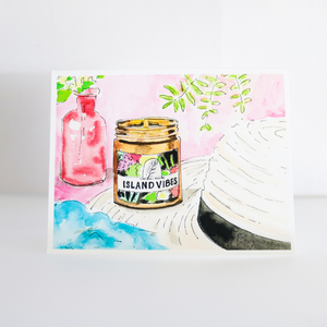 NaturalAnnie Essentials Hand drawn post card gift card