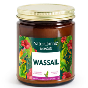 wassail mulled wine holiday scented candle