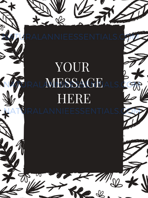 Personalized Gift Message- Adult Coloring Print Add On