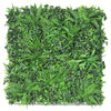 3D green wall with variagATED FOLIAGE
