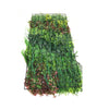 Artificial 3D plant wall with red foliage 100x50cm