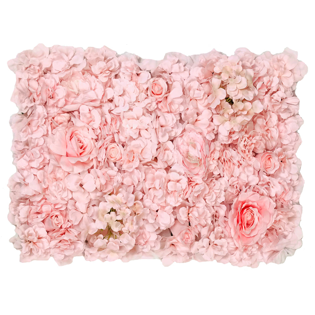Pink flower mats 40x60 cm - www.greenplantwalls.co.uk