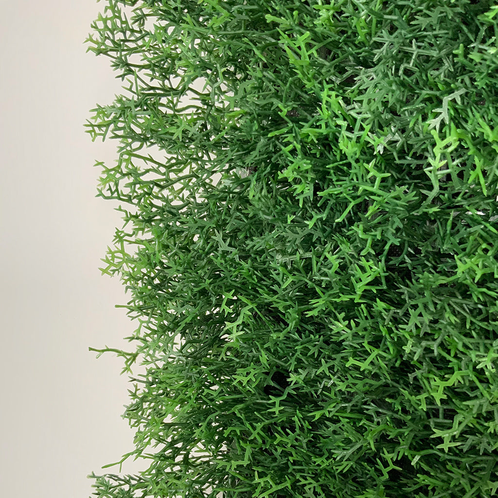 Artificial dark-light green reindeer moss panel 100x100 cm - www.greenplantwalls.co.uk