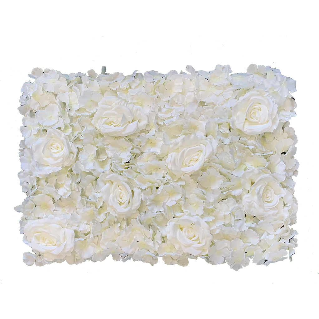 White flower mats 40x60 cm - www.greenplantwalls.co.uk