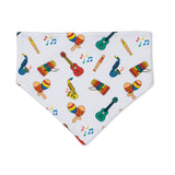 Musical Instruments Dribble Bib
