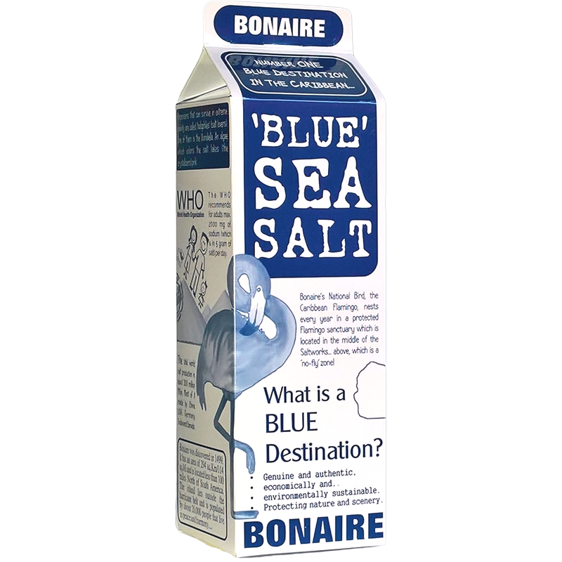 NEW packaging for BLUE SEA SALT....