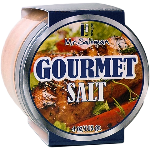 gourmet salt 4 oz jar