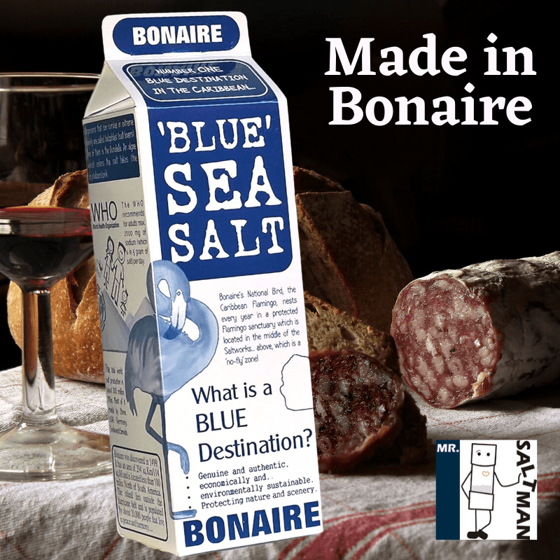 'Blue' Sea Salt Pack - Bonaire Salt Shop