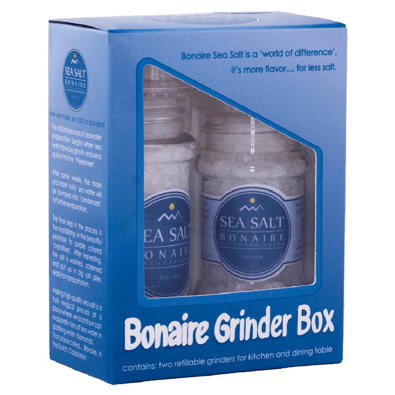 Gift Box 'SALT DUO' - Bonaire Salt Shop