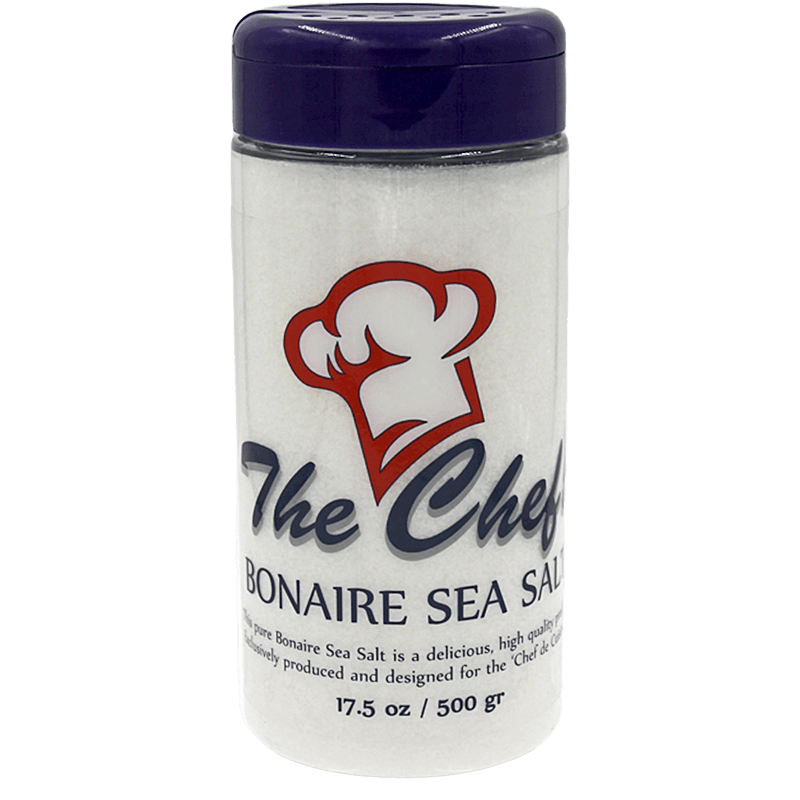 Sea Salt GRINDER 'THE CHEF' - Bonaire Salt Shop