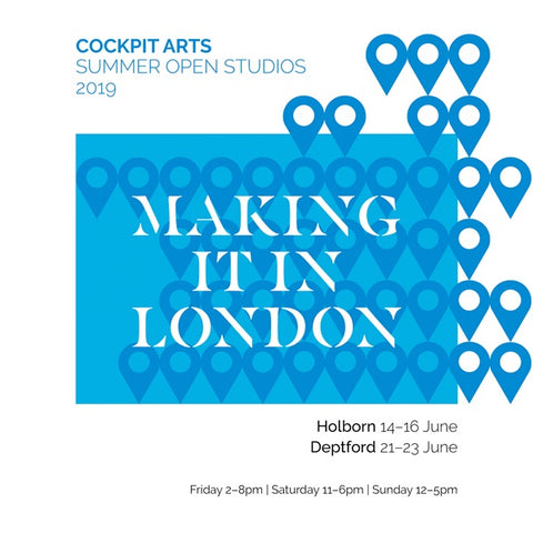 Cockpit Arts summer open studio 2019