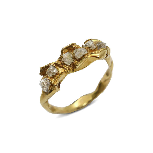 C R U S H Elegant Ring - Gold