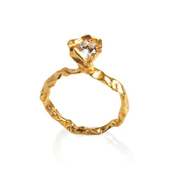 CRUSH 18K DIAMOND RING