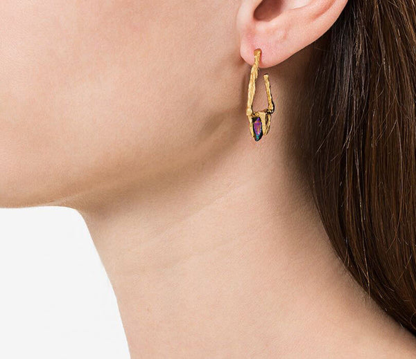 DELTA Earrings - Gold
