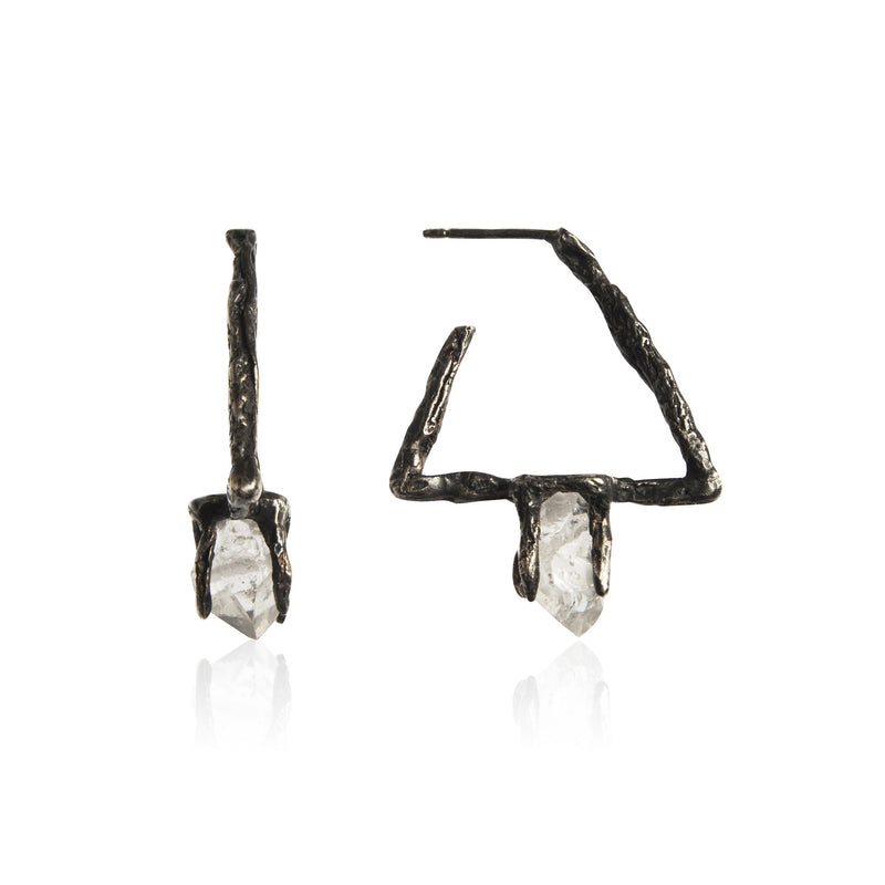 DELTA Earrings - Black