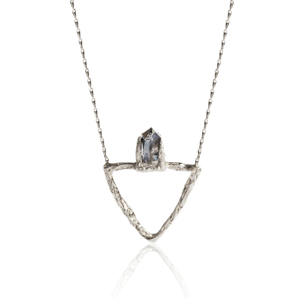 DELTA NECKLACE-SILVER