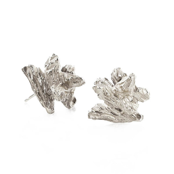UNDER EARTH IRREGULAR STUDS - SILVER