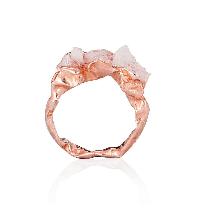 C R U S H Elegant Ring - Rose Gold
