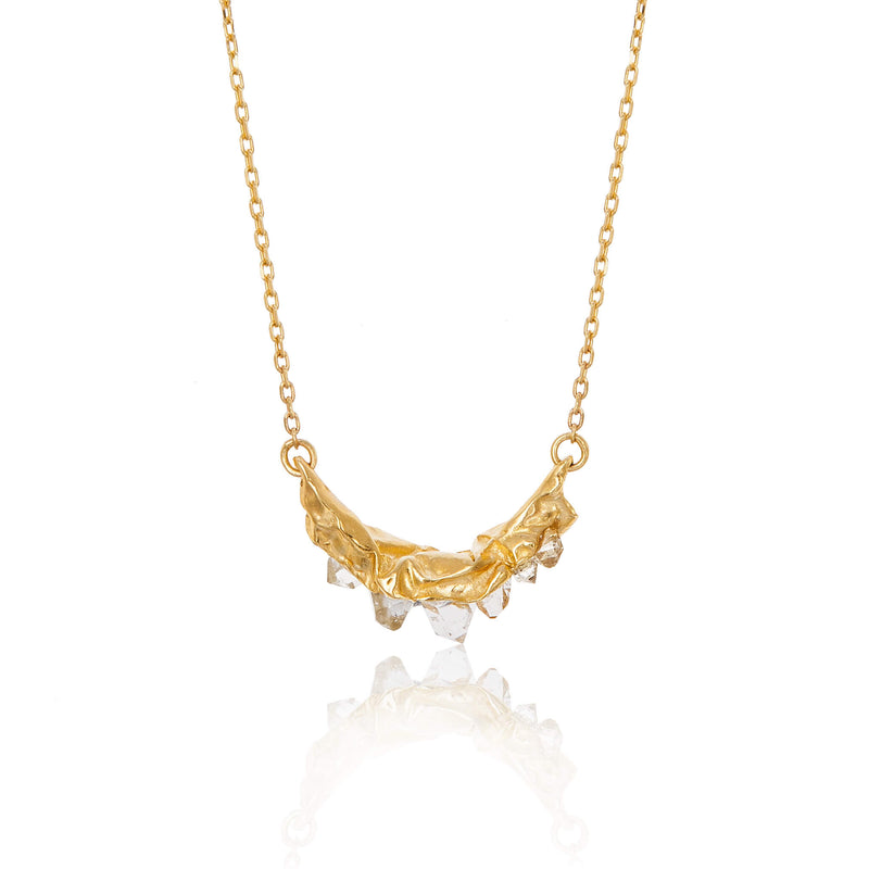 C R U S H Small necklace - Gold