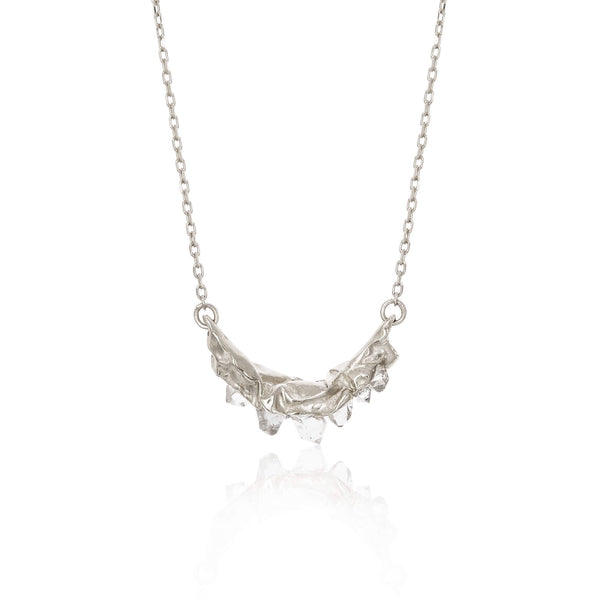 C R U S H Small necklace - Silver