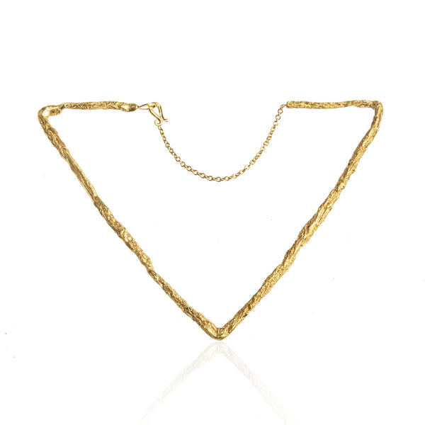 DELTA Triangular Bracelet - Gold