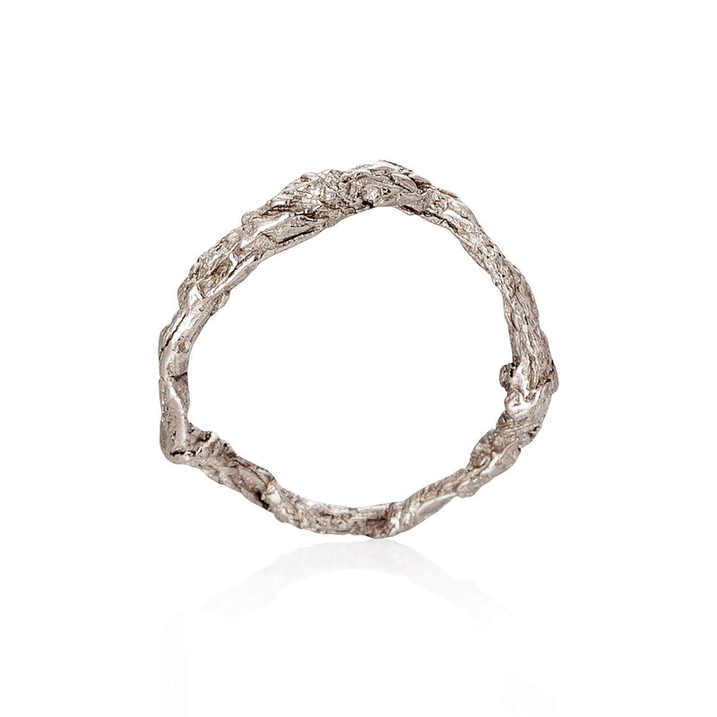 ILLUSION Circle Ring - Silver