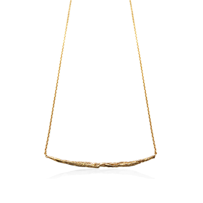 ILLUSION Long stick necklace - Gold