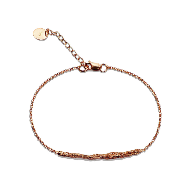 ILLUSION Medium stick bracelet - ROSE GOLD