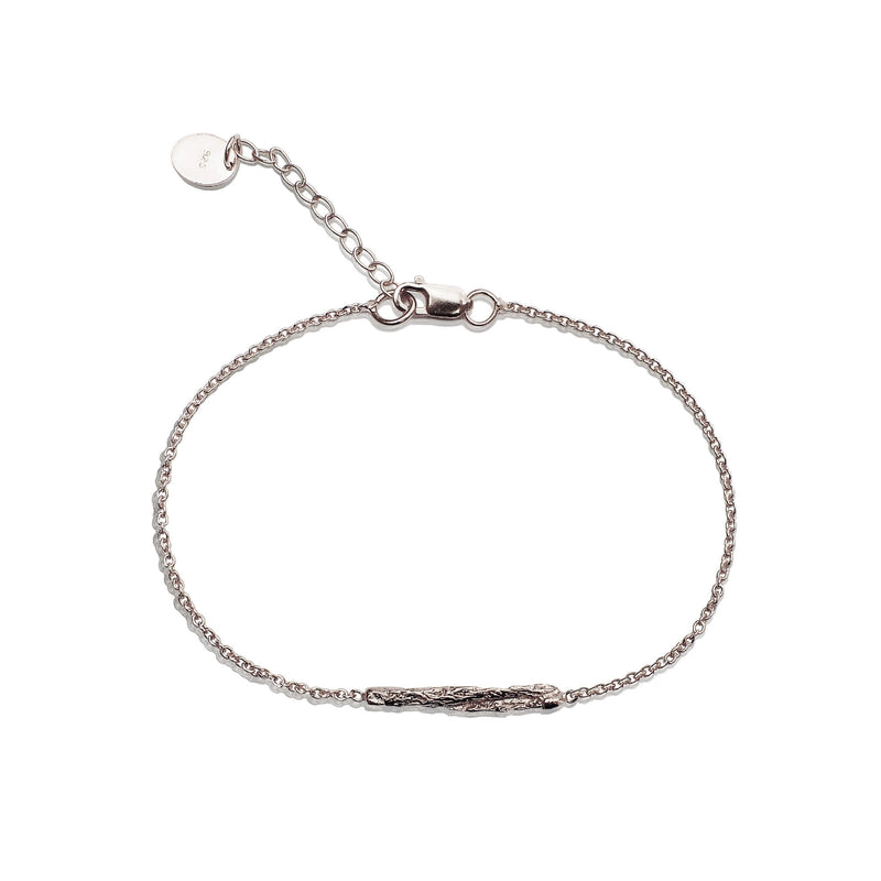 ILLUSION Short stick bracelet - SILVER